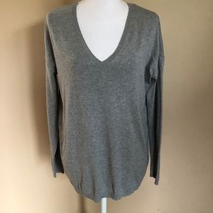 Zara | Knit V-Neck Sweater Shirt  S
